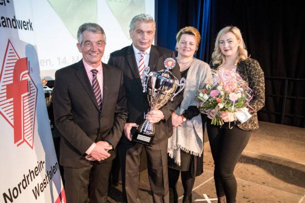 Heinz-Günter Nieß, Frank Nieß, Bettina und Melina Nieß