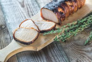 Häppchen aus frischem Schweinefilet von Fleischerei Nieß